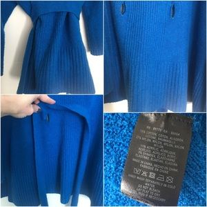 Anthropologie Sweaters - Anthro Sleeping on Snow Alcott belted sweater S